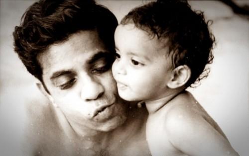 Malini and Pa 1964