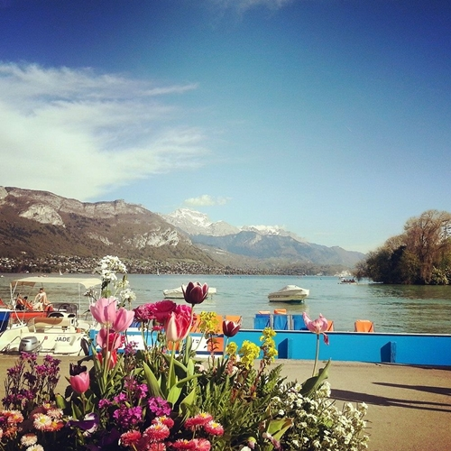 Malini and Mary in Annecy 2015
