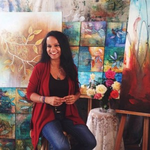 Malini in Studio